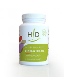 Hallelujah Acres B12 B6 & Folate